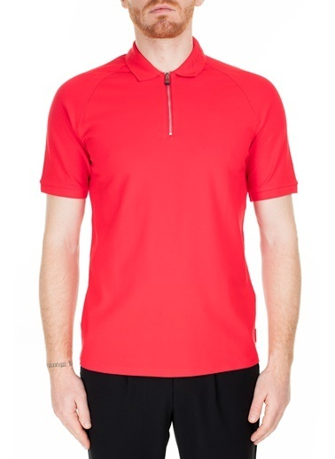 Armani Exchange  Regular Fit Polo T Shirt Erkek Polo 3Hzfad Zj81Z 1401 Kırmızı